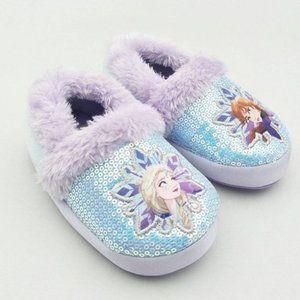 Toddler Girls' Disney Frozen Ballet Slippers